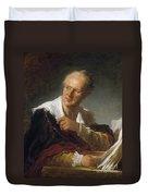 Denis Diderot (1713-1784) Duvet Cover