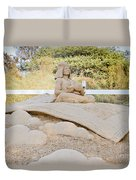 Fairytale Sand Sculpture  Duvet Cover