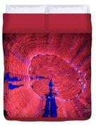 Fluorescent Coral In Uv Light Duvet Cover