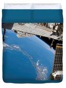International Space Station Duvet Cover