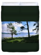 Kenmare Bay, Dunkerron Islands, Co Duvet Cover