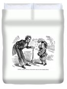 Presidential Campaign, 1860 Duvet Cover