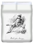 Washington Irving Duvet Cover