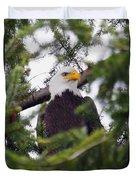 A Bald Eagle Duvet Cover