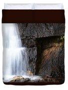 A Beautiful Waterfall Duvet Cover