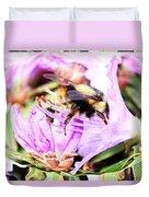 A Bees World Duvet Cover
