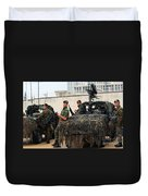 A Belgian Recce Or Scout Team Duvet Cover