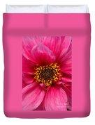 A Big Pink Flower Duvet Cover