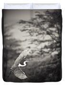 A Bird With A Large Wing Span Takes Duvet Cover