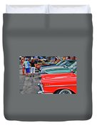 A Blast Of Color - Auto Row 7708 Duvet Cover