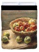 A Bowl Of Apples Duvet Cover