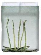 A Bunch Of Asparagus Duvet Cover