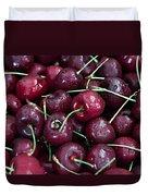 A Cherry Bunch Duvet Cover