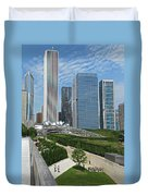 A Chicago View Duvet Cover