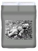 A Chinese Soldier Killed Duvet Cover