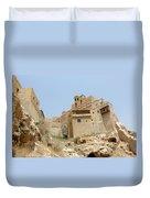 A Church In The Desert Duvet Cover