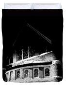 A Church On A Dark Night Duvet Cover