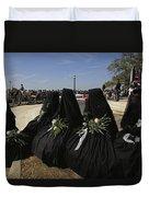 A Civil War-era Funeral Is Recreated Duvet Cover