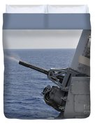 A Close-in Weapons System Aboard Duvet Cover