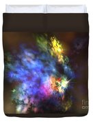 A Colorful Nebula In The Universe Duvet Cover