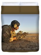 A Combat Rescue Officer Provides Duvet Cover by Stocktrek Images