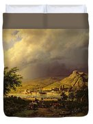 A Coming Storm Duvet Cover