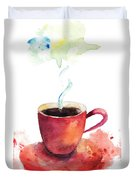 A Cup Of Coffee Duvet Cover