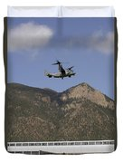 A Cv-22 Osprey Flies Over The 2007 Duvet Cover