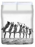A Dance To The Morning Sun Duvet Cover