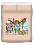 A Day To Relax Duvet Cover