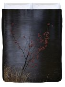 A Delicate Young Tree Blossoms Duvet Cover
