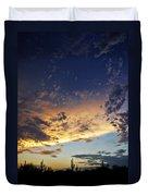 A Desert Horizon  Duvet Cover
