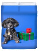 A Dog With Some Gifts Duvet Cover