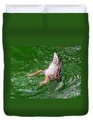A Ducking Duck Duvet Cover