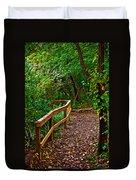 A Fall Walk Duvet Cover