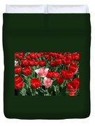 A Field Of Tulips Series 3 Duvet Cover