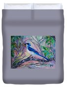 A Fine Feathered Friend Duvet Cover