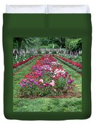 A Formal Garden Duvet Cover