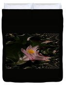 A Fractual Lily Duvet Cover