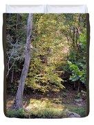 A Golden Hill Of Sunlight Duvet Cover