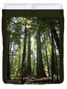 A Green World Duvet Cover