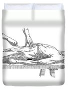 A Handbook Of Morbid Anatomy Duvet Cover by Science Source