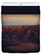 A Hot Desert Evening Duvet Cover