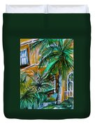 A Hotel In Sorrento Italy Duvet Cover