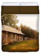 A Hut To Call Home Duvet Cover