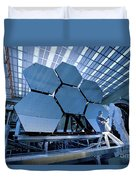 A James Webb Space Telescope Array Duvet Cover