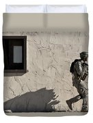 A Joint Tactical Air Controller Duvet Cover