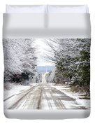 A Journey Begins With One Step Duvet Cover