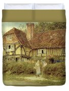 A Kentish Cottage Duvet Cover