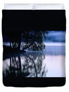 A Large Tree Grows At The Edge Duvet Cover